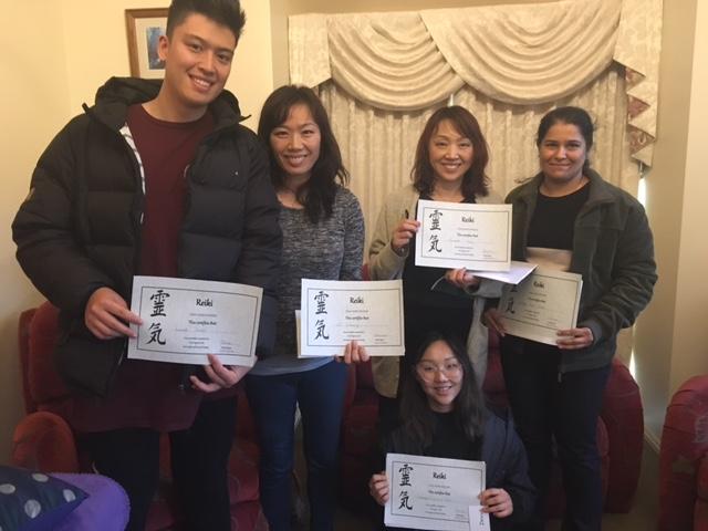 reiki-1-class-certificates